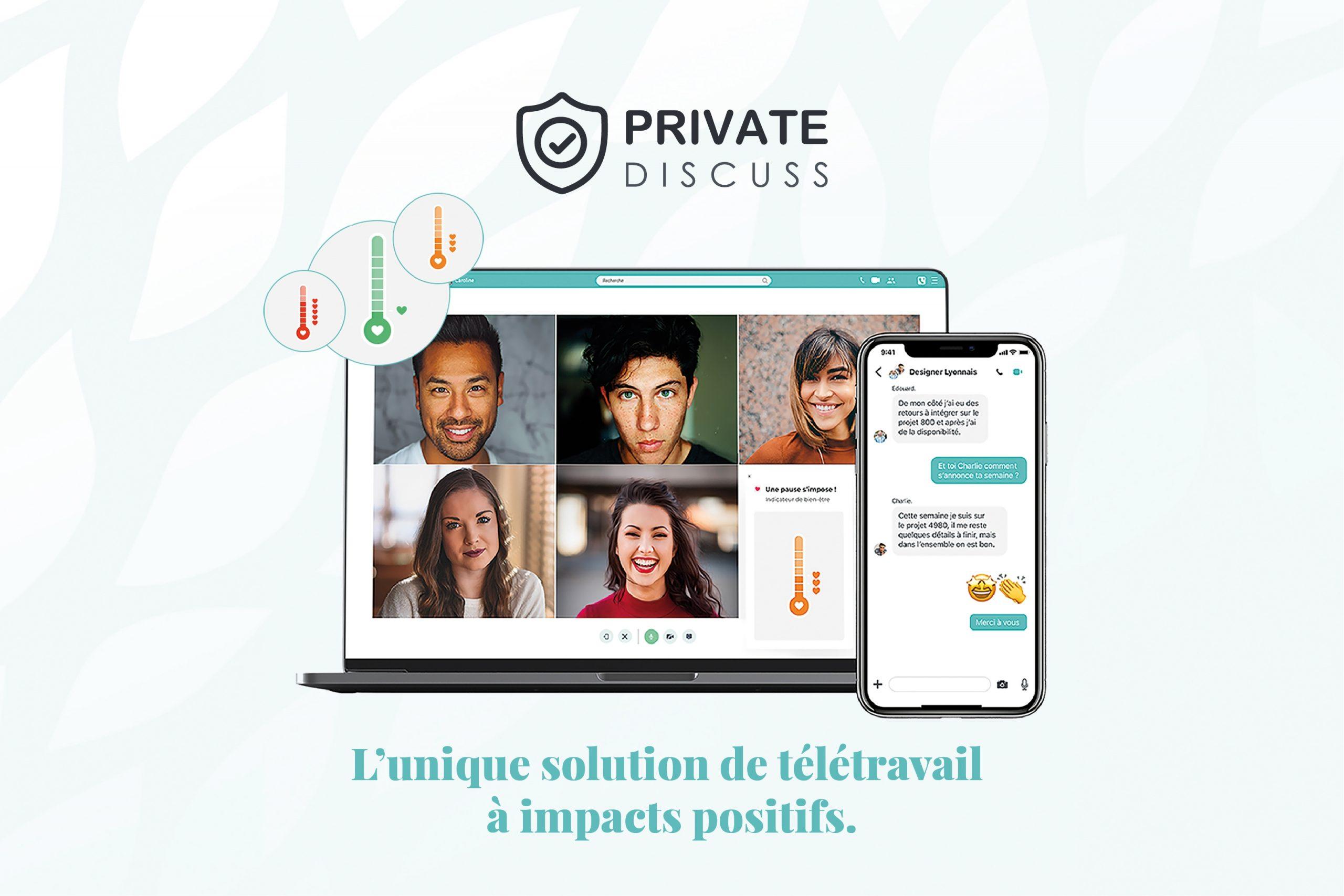 Private Discuss à impacts positifs